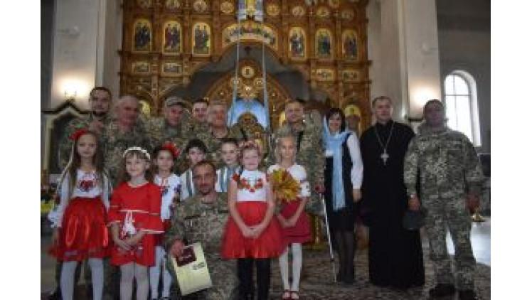 Молебень за здоров'я Героїв та Україну
