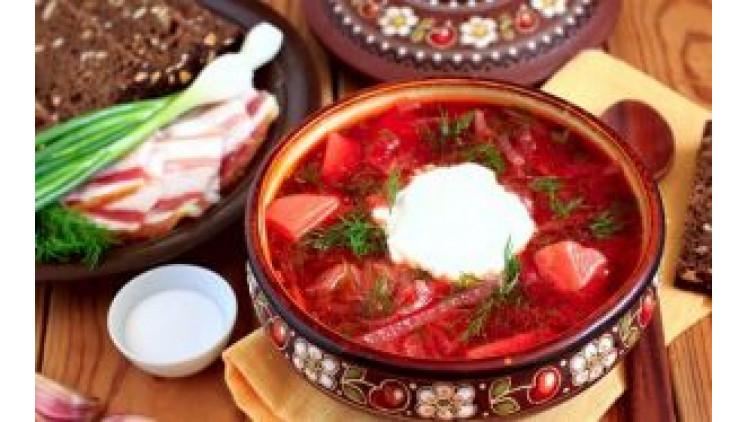 Борщ – страва українська
